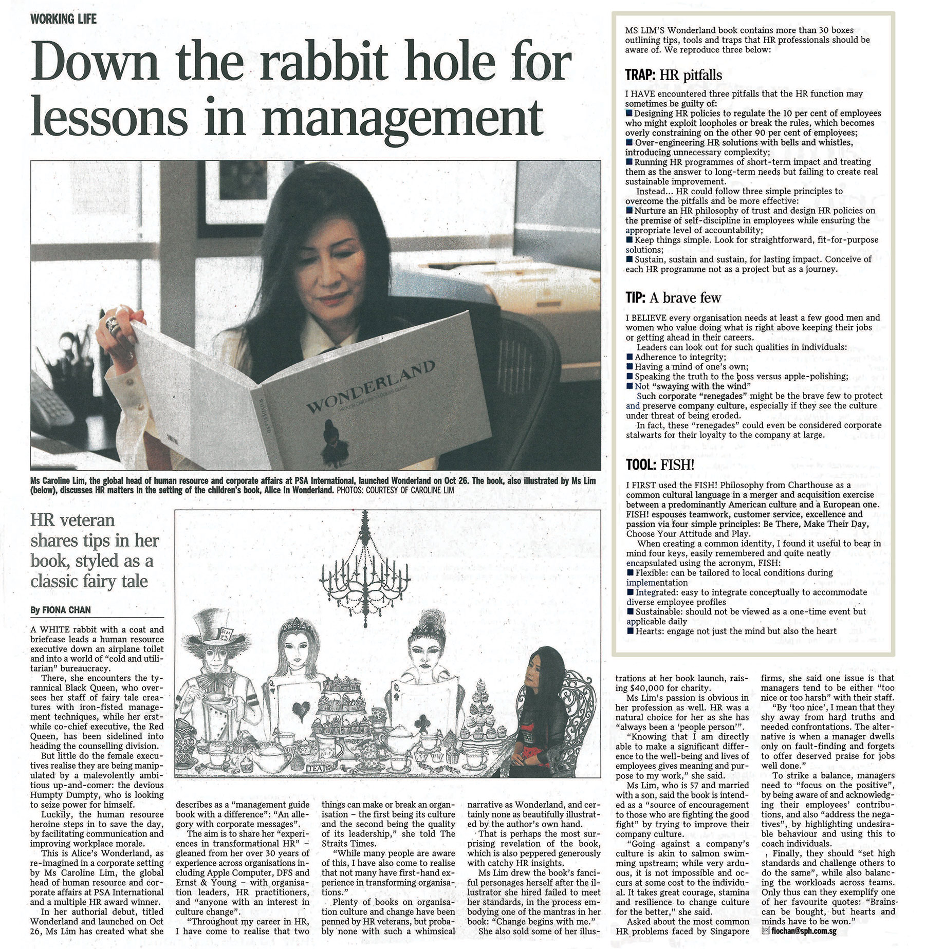 """down the rabbit hole essay Eunice lim could not have come up with a more succinct title than """""""" the full  stop - a punctuation so succinct, yet so evocative in its function."""